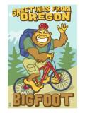 Bigfoot Bicyle in Oregon