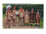 North Carolina - Cherokee Indians Ready for Green Corn Dance