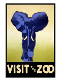 Visit the Zoo - Elephant Charging