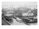Hampton Roads Revels In the Return of the American Fleet
