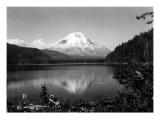 Mount St Helens From Spirit Lake  1923