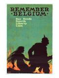 """""""Remember Belgium: Buy Bonds  Fourth Liberty Loan""""  1918"""