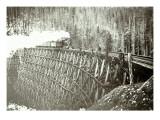 Great Northern Railroad Bridge  Circa 1895