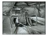 Coal Car with Operator  Franklin Mine