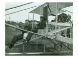 Harvey Crawford in Biplane  1912