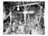Seattle Brewing & Malting Co  Cooper Shop  1914
