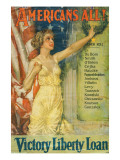 """""""Americans All!: Victory Liberty Loan""""  1919"""