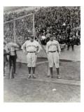 Babe Ruth and Bob Museul  October 18  1924