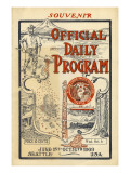 AYPE Official Daily Program  1909