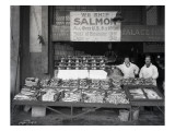 Palace Fish Market  Seattle  1925
