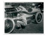Harry Hartz and No14 Racecar  1919