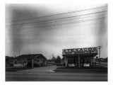 Texaco Gas Station  Circa 1928