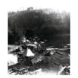 Historical Underwood (Big White Salmon) Indian Village  Circa 1936