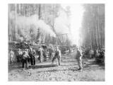 Laying Ties  1918