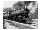 Railroad Locomotive 1443  Circa 1909