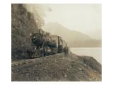 Steam Locomotive  Circa 1918