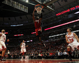 Miami Heat v Chicago Bulls - Game Two  Chicago  IL - MAY 18: Dwyane Wade