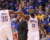 Memphis Grizzlies v Oklahoma City Thunder - Game Seven  Oklahoma City  OK - MAY 15: Kevin Durant an