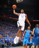 Dallas Mavericks v Oklahoma City Thunder - Game Four  Oklahoma City  OK - MAY 23: Kevin Durant and