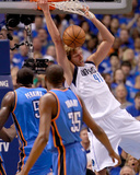 Oklahoma City Thunder v Dallas Mavericks - Game Two  Dallas  TX - MAY 19: Dirk Nowitzki  Kendrick P