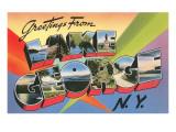 Greetings from Lake George  New York