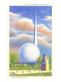 Trylon and Perisphere  New York World's Fair  1939