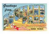 Greetings from Roseland Park  New York