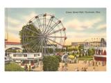 Coney Island Ferris Wheel  Cincinnati  Ohio