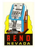 Slot Machine Graphic  Reno  Nevada