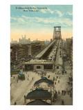 Willamsburg Bridge Approach  New York City