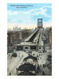 Williamsburg Bridge Approach  New York City