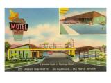 Sombrero Motel  Las Vegas  Nevada