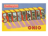Greetings from Struthers  Ohio