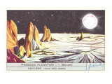 Mercury Landscape Trade Card