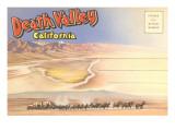 Postcard Folder of Death Valley  California