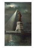 Statue of Liberty  Torch Spotlight
