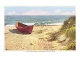 Dory on Beach  Wauwinet  Nantucket  Massachusetts