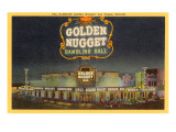 Golden Nugget Gambling Hall  Las Vegas  Nevada