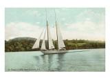 Schooner on Owasco Lake  Auburn  New York