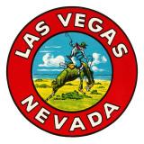 Las Vegas Logo with Bucking Bronco  Nevada