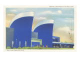 Marine Transportation Building  New York World's Fair  1939