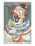 Paint by Numbers  Clown