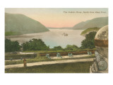 Hudson River from Westpoint  New York State