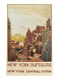 Travel Poster  New York City