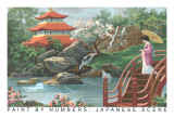 Paint by Numbers  Japanese Scene