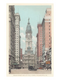 Broad Street  City Hall  Philadelphia  Pennsylvania