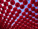 Taiwan  Kaohsiung  Cijin Island  Chinese Lanterns at Tianhou Temple