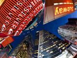 USA  New York City  Manhattan  Times Square  Neon Lights of 42nd Street