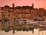 France  Provence-Alpes-Cote D'Azur  Cannes  Old Town Le Suquet  Vieux Port (Old Harbour)