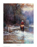 Creek Bottom Search Reproduction d'art par Martin Grelle